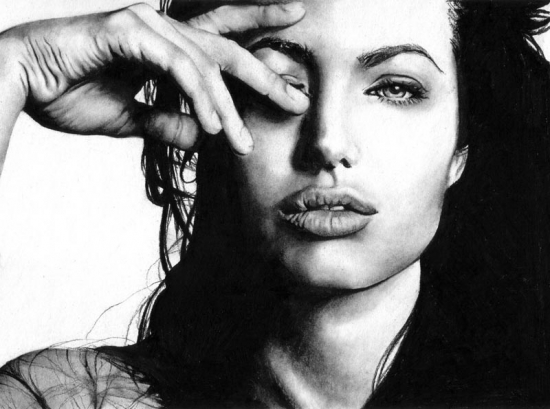 Angelina Jolie por dreamhuntress